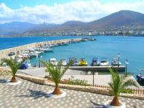 Греция, о. Крит,  набережная Херсониссоса