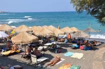 Греция, о. Крит, один из городских пляжей