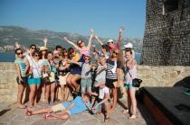 детский лагерь Жемчужный берег - Мы в Черногории