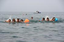 детский лагерь Жемчужный берег - водные старты