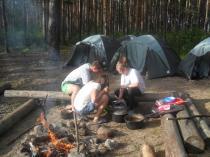 """Детский лагерь """"Школа Рейнджеров"""", готовим сами"""