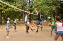 лагерь Росица. Волейбол