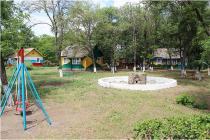 """лагерь """"Золотая коса"""" детская площадка"""