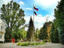 """база отдыха """"Радуга"""" главная площадь"""
