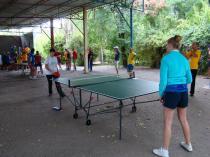 """база отдыха """"Радуга"""", настольный теннис"""