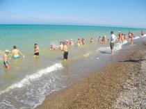Детский лагерь Радуга, купание