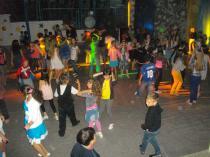 Детский лагерь Радуга, дискотека