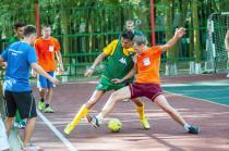 Радуга, футбол