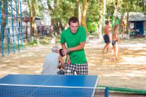 Радуга, столы для настольного тенниса на свежем воздухе