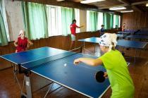 Most camp, настольный теннис