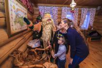 Сказочный Дедушка расскажет о своем жилище