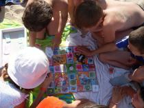 СЕРДИКА КИДС, игры на пляже