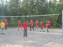 """Детский лагерь """"Школа Рейнджеров"""", играем в волейбол"""