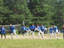 """Детский лагерь """"Школа Рейнджеров"""", занятие по карате"""