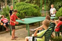 лагерь Росица. Настольный теннис