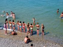 Детский лагерь им. Казакевича, аквааэробика - Крым