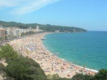 Испания, Ллорет де Мар, пляж