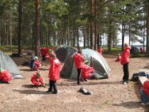 """Детский лагерь """"Школа Рейнджеров"""", кемпинг, мобильный палаточный городок"""